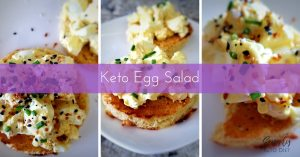 Keto Egg Salad Recipe for the Ketogenic Diet