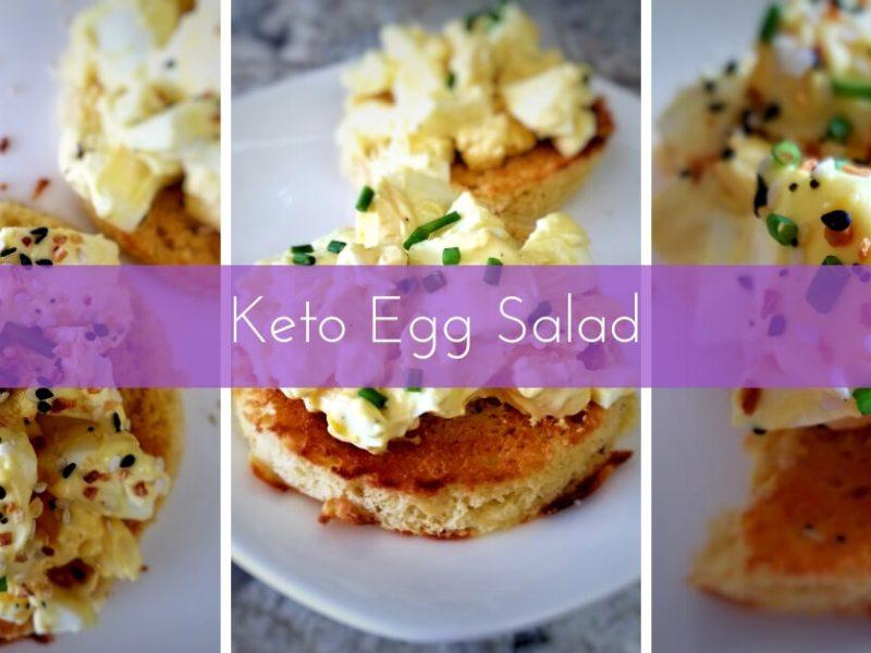 Keto Egg Salad Recipe for the Ketogenic Diet