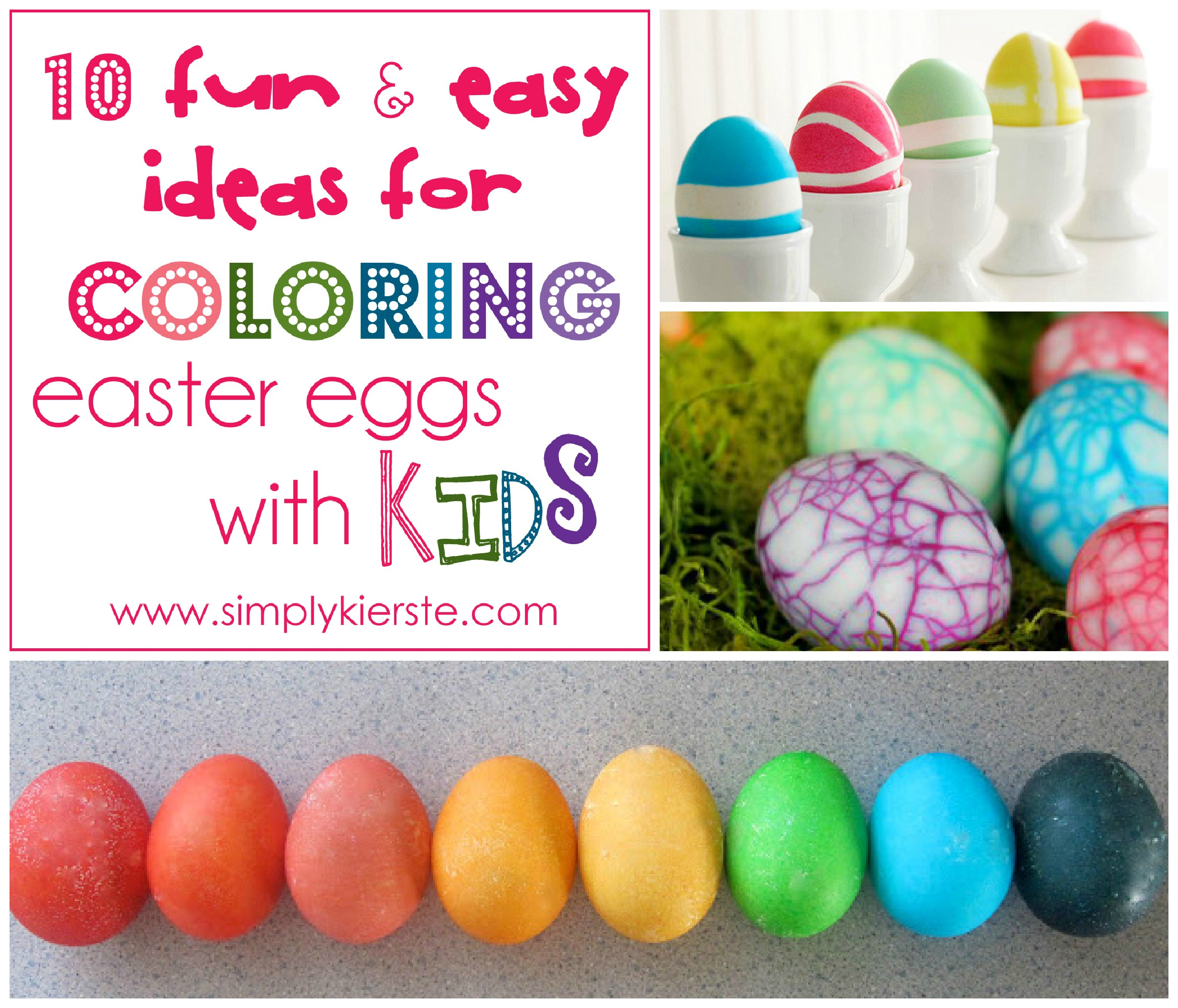 10 Fun Amp Easy Ideas For Coloring Easter Eggs With Kids