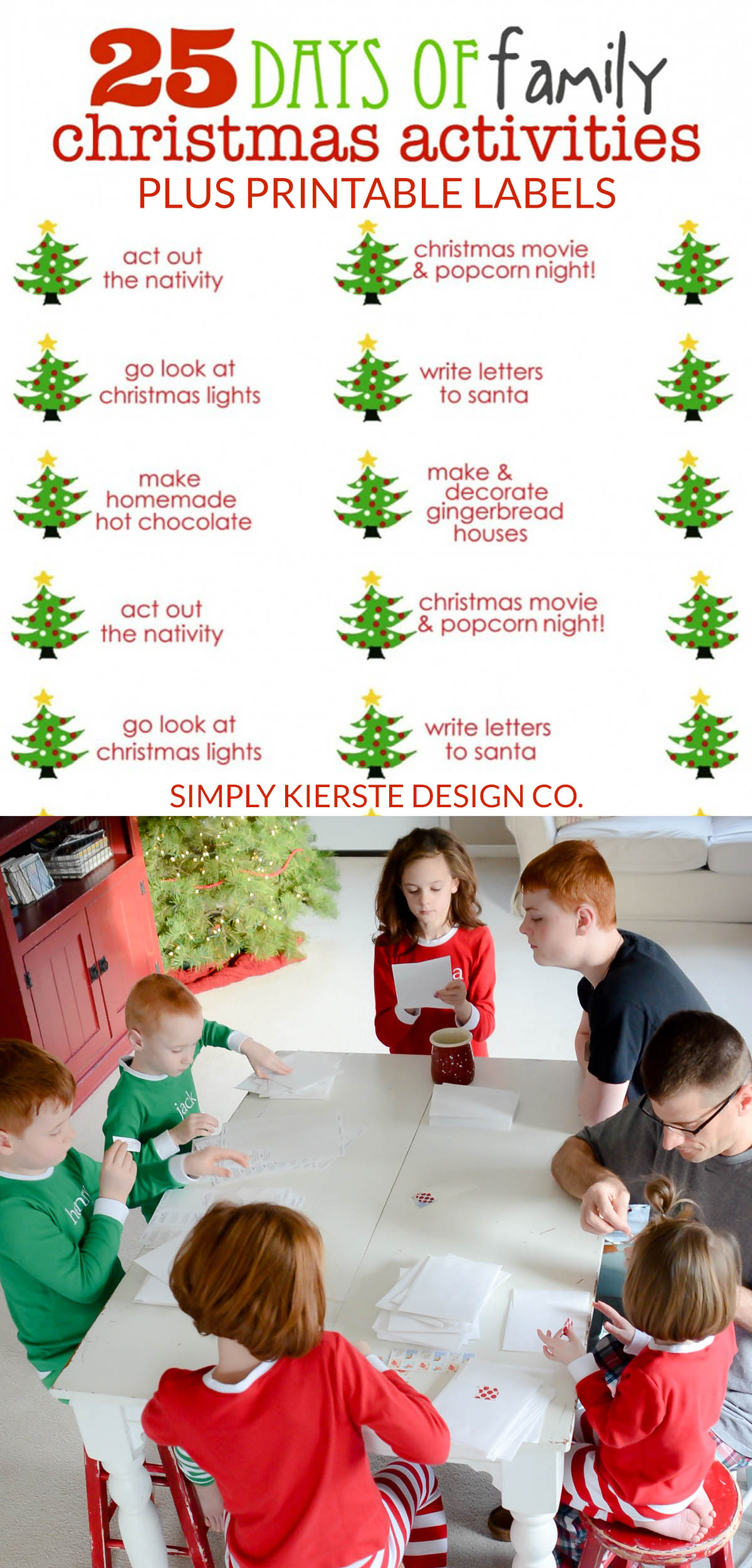 25 Days Of Family Christmas Activities