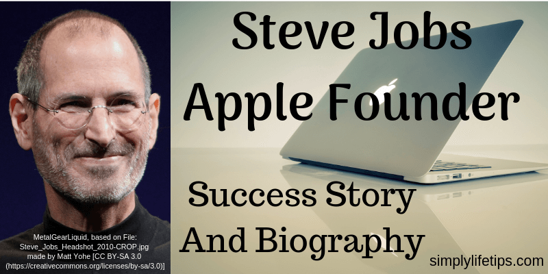 Steve Jobs Apple Founder Success Story Biography Quotes