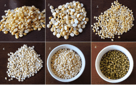To Increase Weight Pulses Are Good - 6 Types of Pulses in a tray