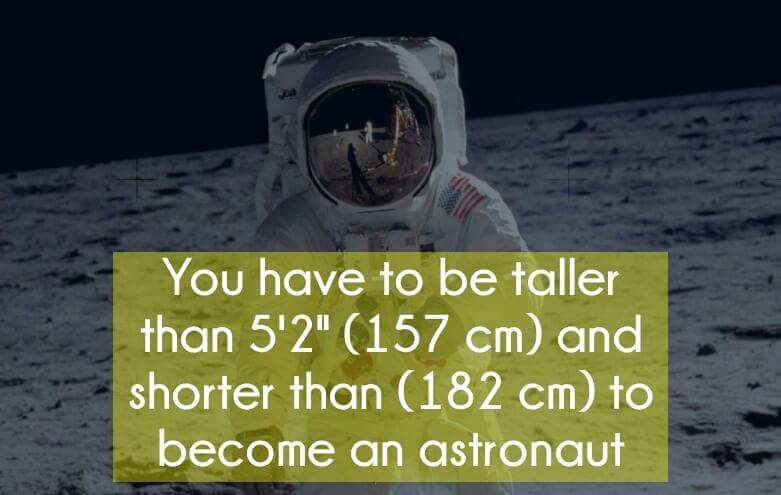 Height Requirement Of An Astronaut