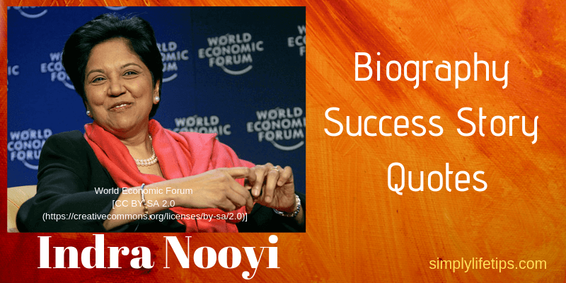 Indra Nooyi Biography Success Story Quotes