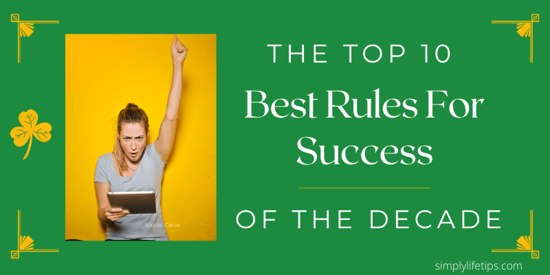 Best Rules For Success