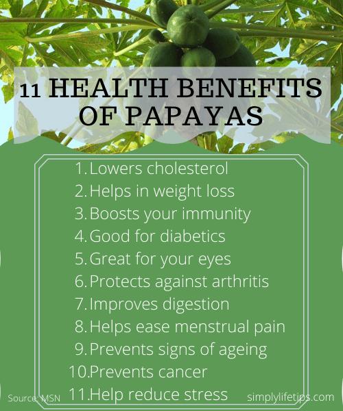 Health Benefits Of Papaya Immunity improving foods