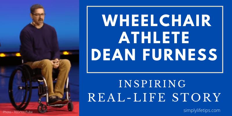 Wheelchair Athlete Dean Furness