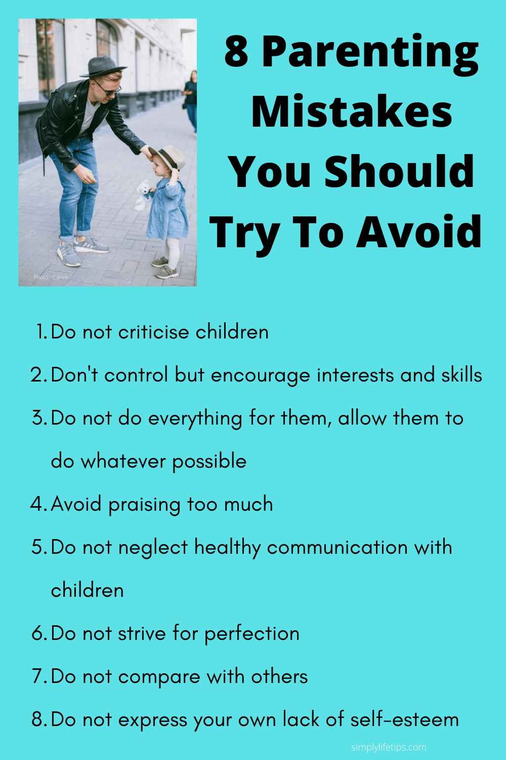 Parenting Mistakes