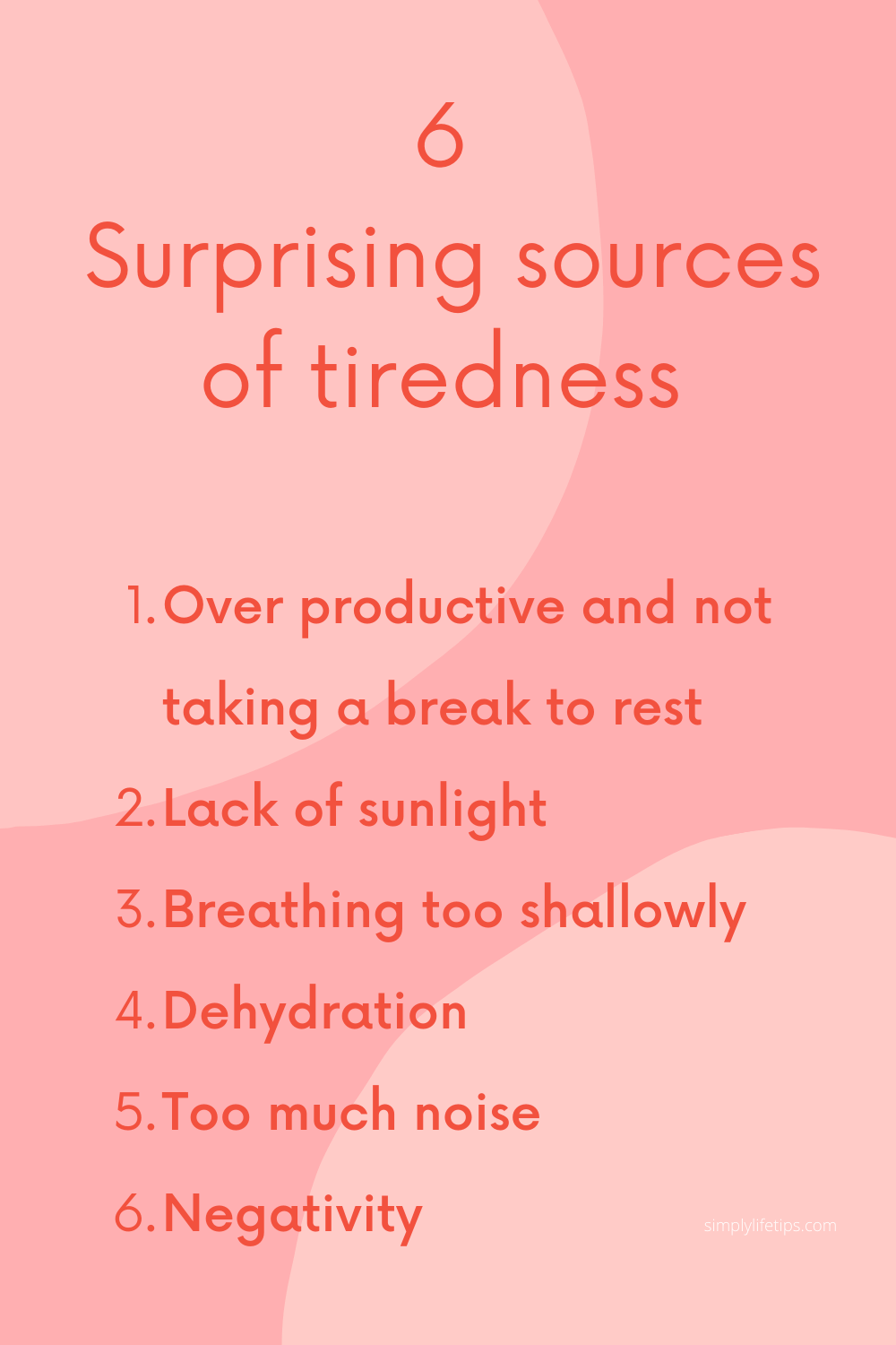 always tired Surprising sources of tiredness