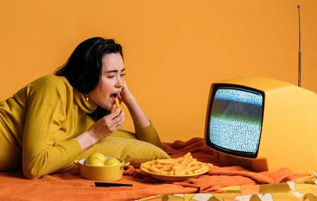 Gut health - Distraction while eating