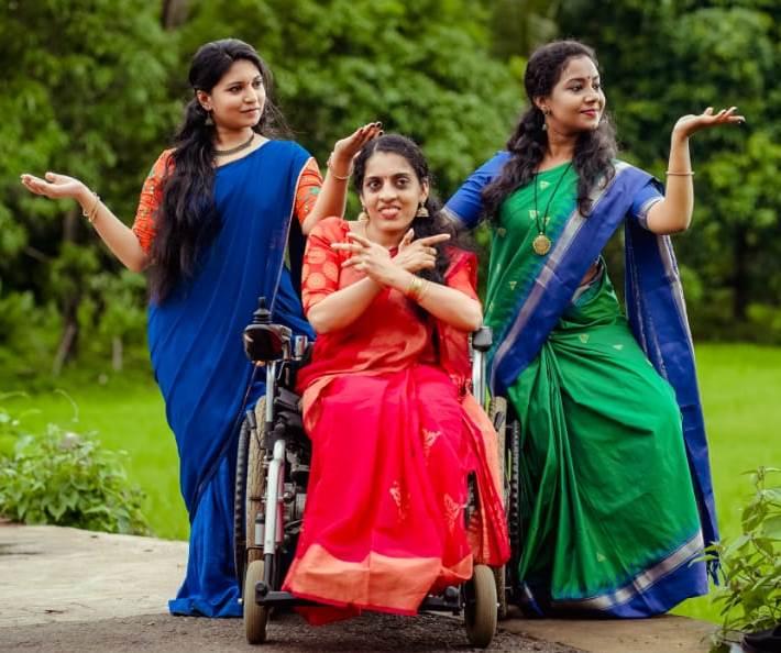 Remya Ganesh Wheelchair Model Dancer Sustrai Team