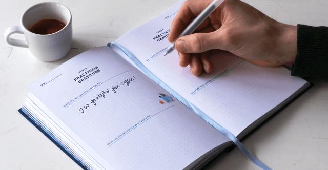 Gratitude journal - Tips for better mental health