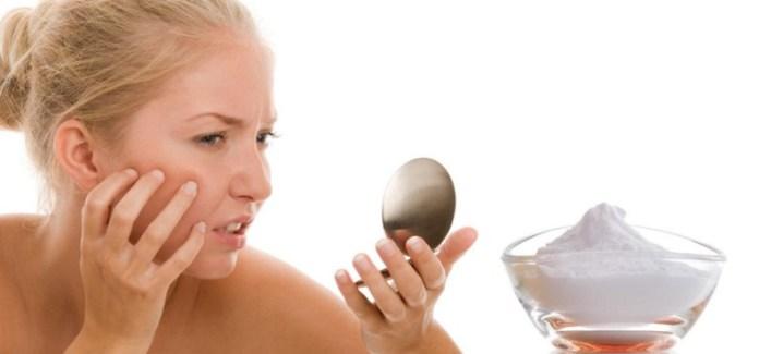 Baking Soda To Remove Pimple