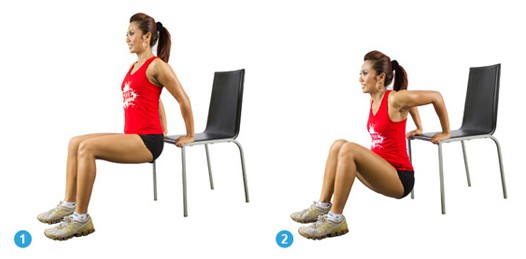 Chair dips