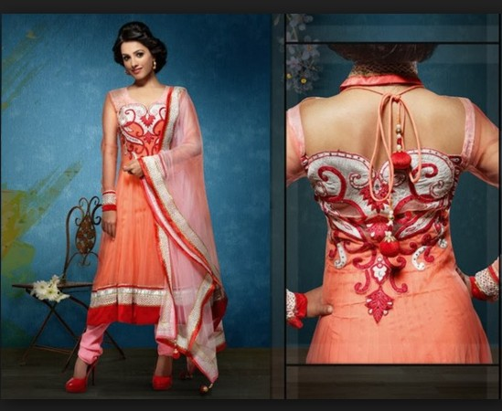 Latest Churidar Neck Designs For Stitching in net