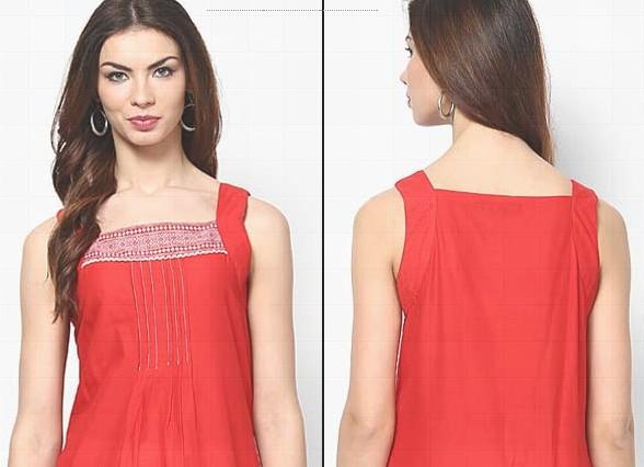 sleeveless Churidar Neck Designs For Stitching