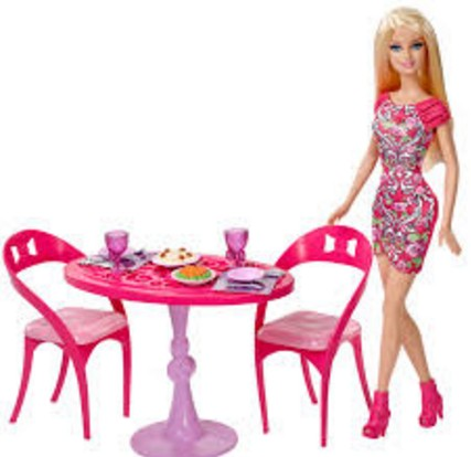 innocent barbie doll with meal hd wall paper
