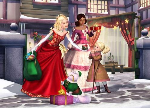 sweet barbie doll teaching hd wall paper