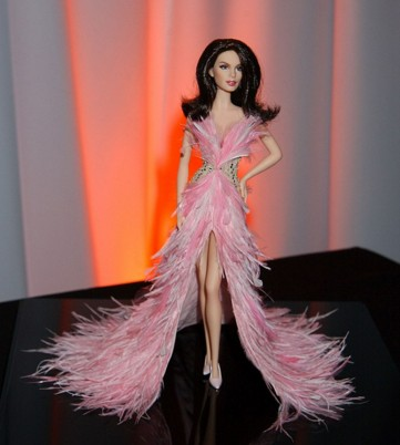 awesome barbie doll in dress hd wall paper