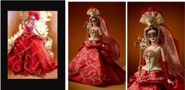 sweet barbie doll masquade hd wall paper