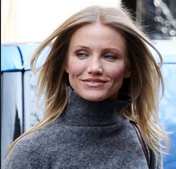 cameron diaz with out make up million dollar smile