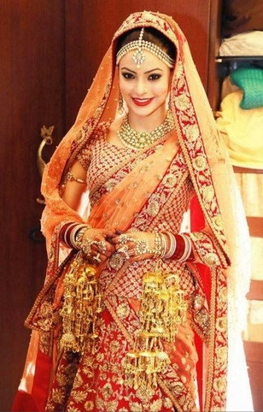 evergreen bridal lehenga