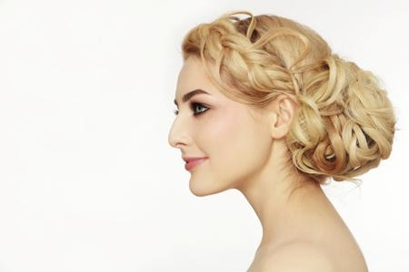 Amazing Haircuts For Chubby Fat Faces To Look Thin - Bun hairstyle for oval face