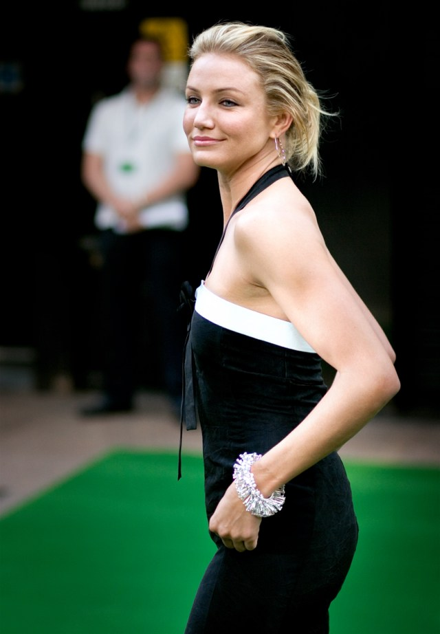 cameron diaz with out make up on the premiere
