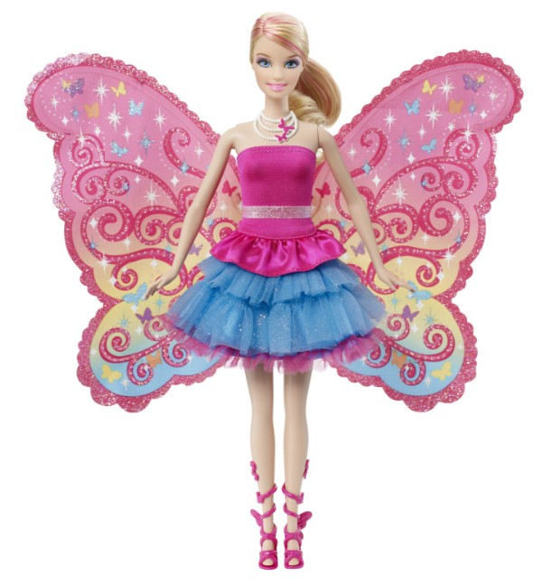 butterfly barbie doll