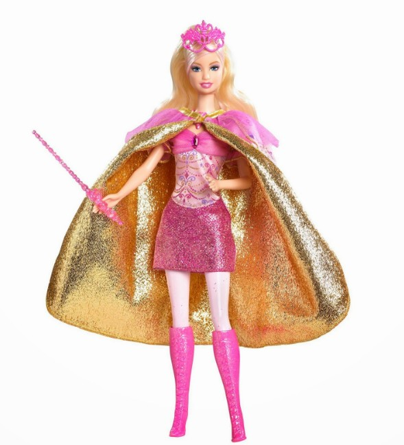 Magician with pink boots barbie doll