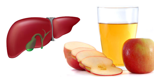 Apple Juice Cleanses Liver