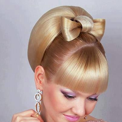 hairbow hippie hairstyle