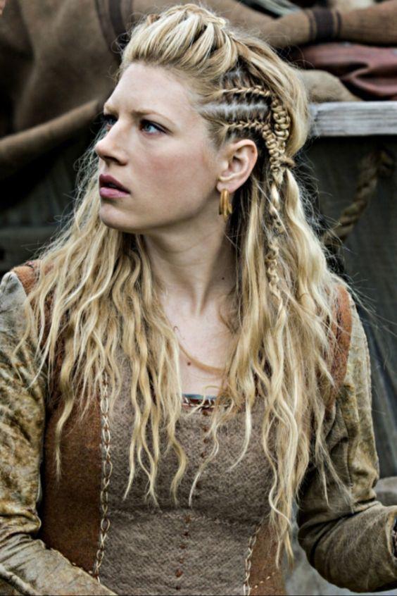 half braided hippie hairstyle