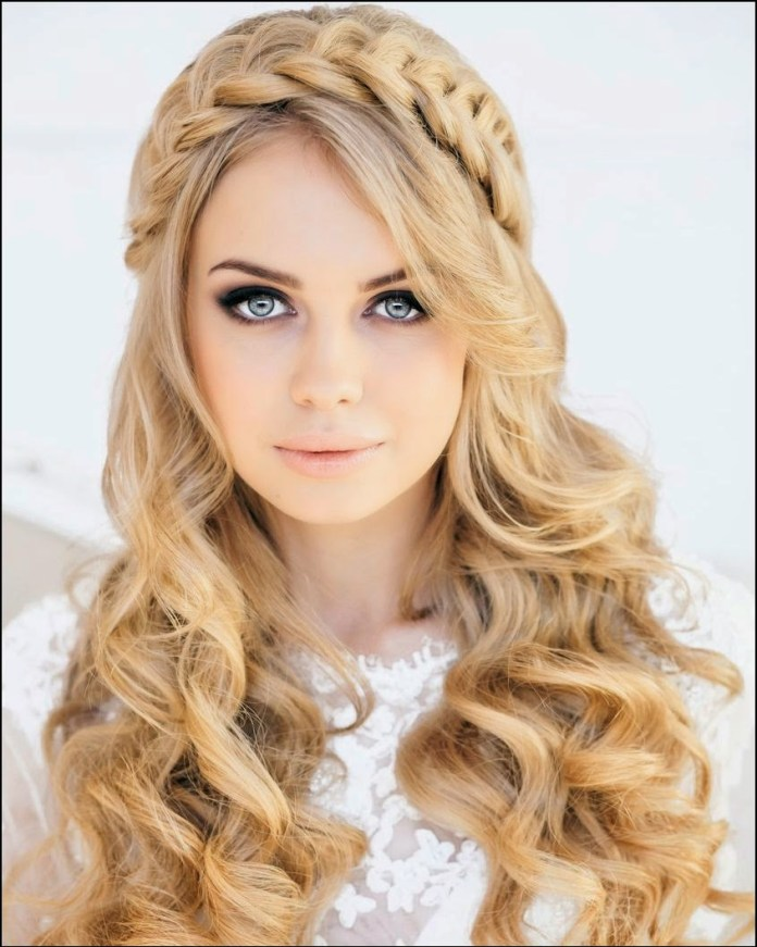 braided crown hippie hairstyle