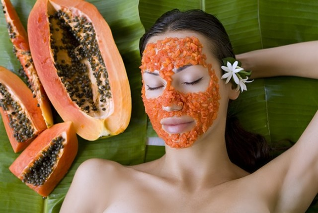 papaya juice moisture skin