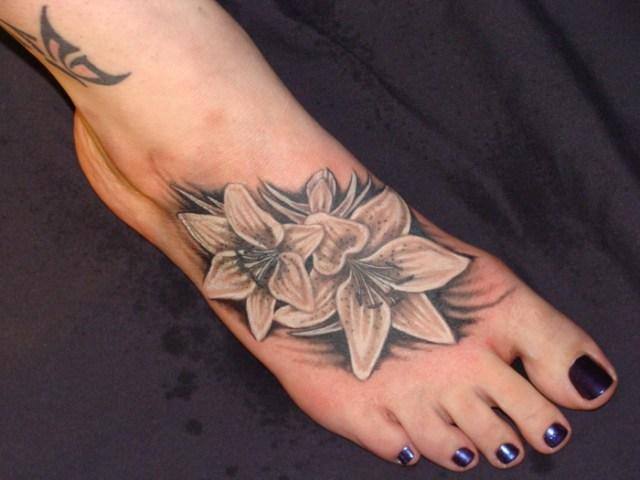 foot maori tattoo