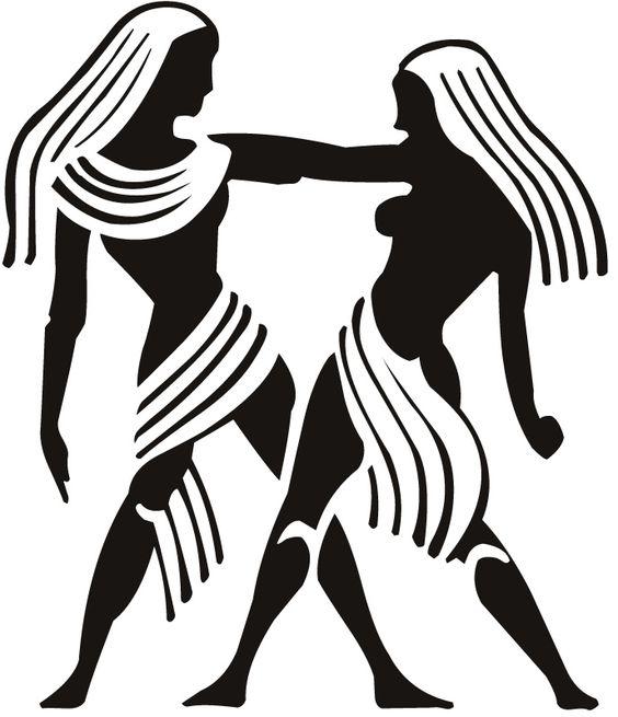 symbol of the geminitattoo design