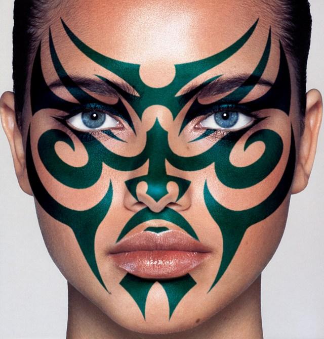 maori facial tattoo