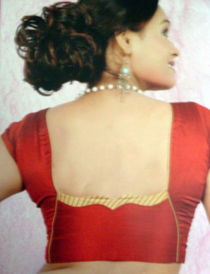 back design image for silk saree