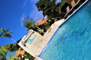 Pool area Oasis Resort West End Negril Jamaica