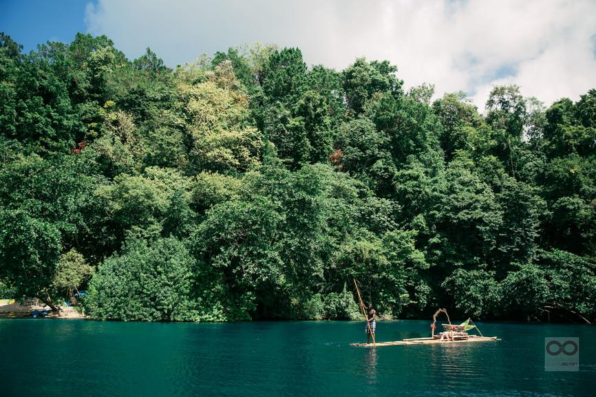Blue Lagoon Jamaica rafting