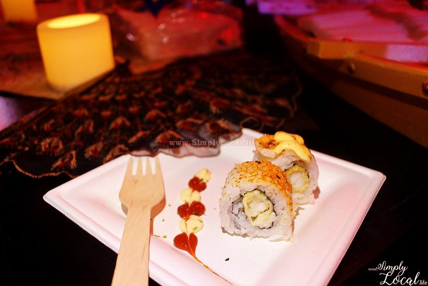 Jamaica Food Drink Fest Chopstix sushi rolls