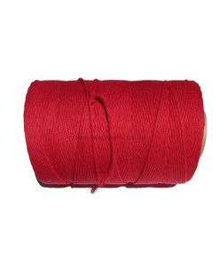 Natural-Cotton-Cord-3mm-Red