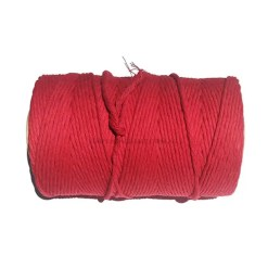 Natural-Cotton-Cord-4mm-Red