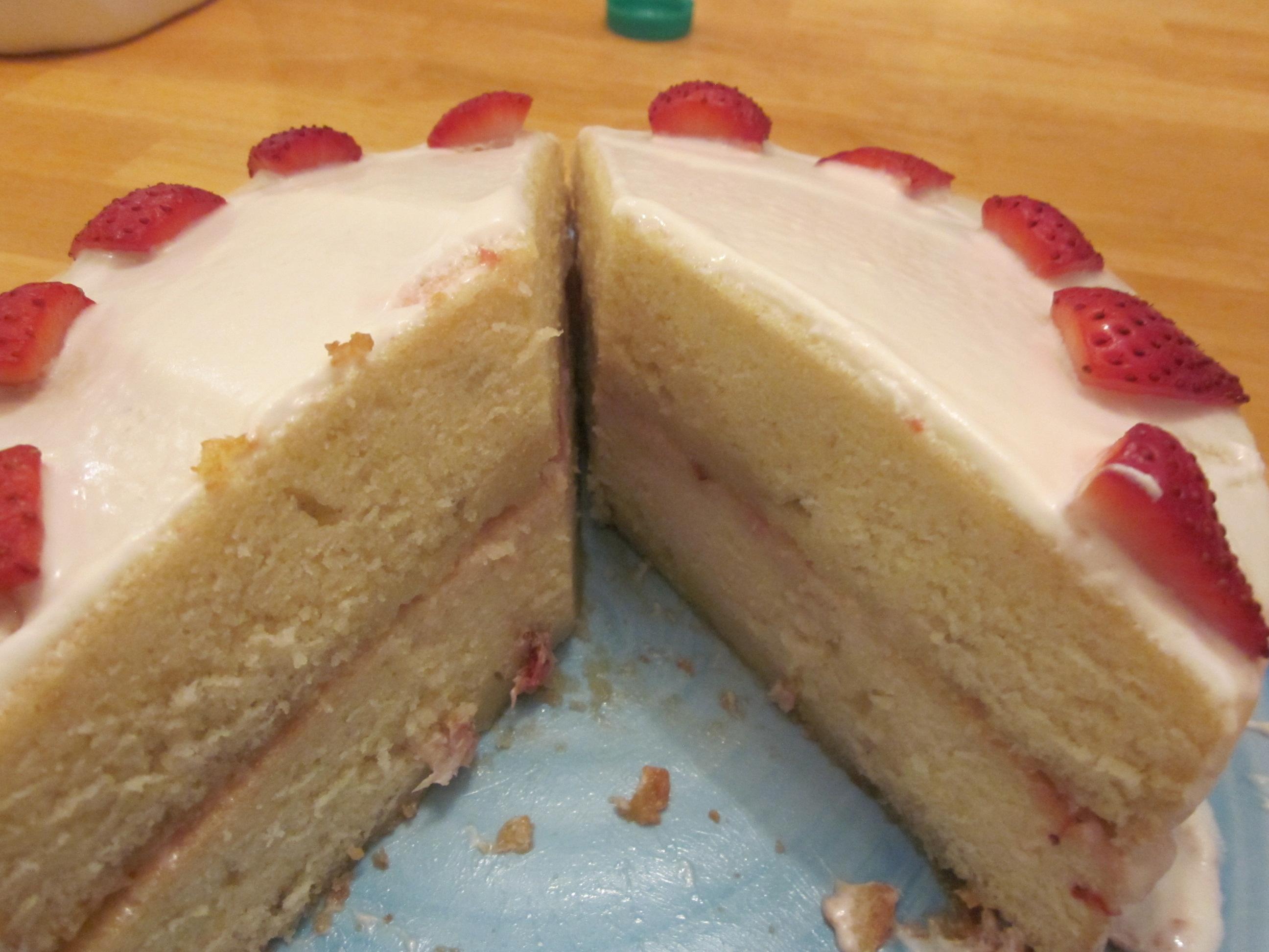 Vanilla Sponge Cake Recipe Simply Me Jennifer Le