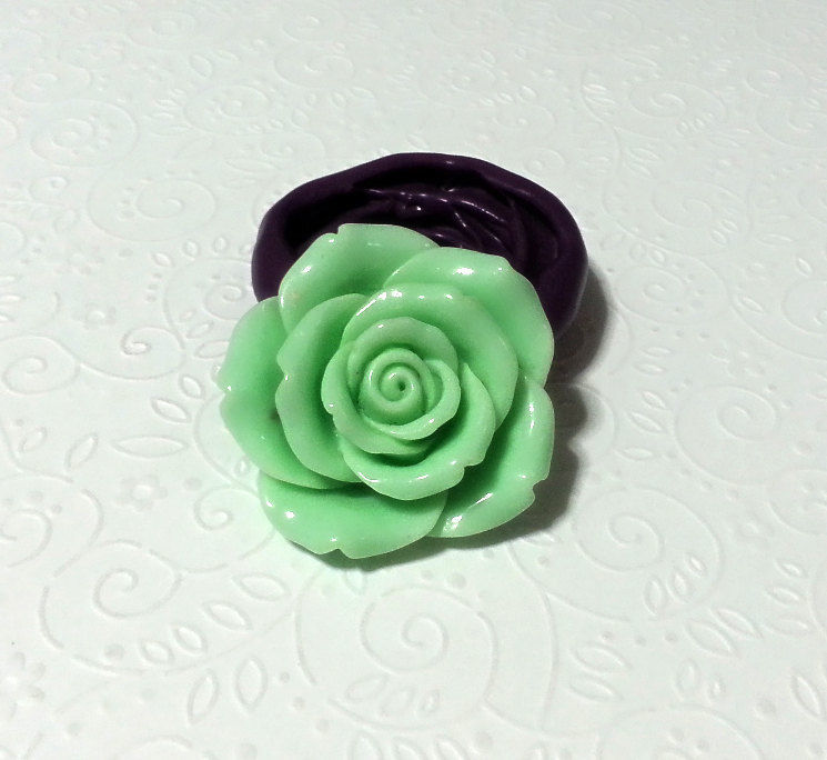 Silicone Mold Large Rose Flower Mould 45mm Fondant Cake