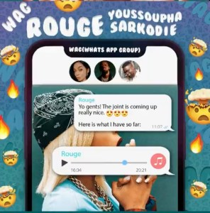 Rouge – WAG ft. Sarkodie, Youssoupha