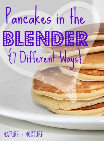 """Quick Pancakes in the Blender! You'll Never Make """"Normal"""" Pancakes Again After Reading This"""