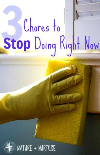 Cleaning Tips: 3 Chores to Stop Doing Right Now