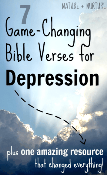 7 Game-Changing Bible Verses for Depression